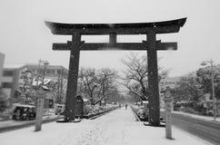Winter in Japan Stockbild
