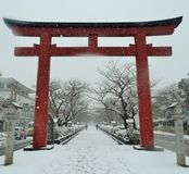 Winter in Japan Royalty Free Stock Photos