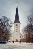 Winter Jaunpils Royalty Free Stock Image