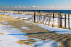 Winter at the Jersey Shore Royalty Free Stock Photos