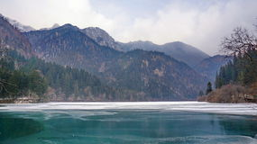 Winter Jiuzhaigou Royalty Free Stock Images