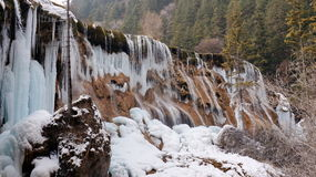 Winter Jiuzhaigou Royalty Free Stock Photography