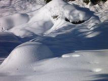 Winter in jizerske hory ridge in czech republic Stock Photos