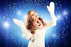 Winter joy Royalty Free Stock Images