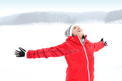 Winter joy Stock Photos