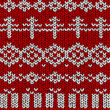 Winter jumper pattern Stock Photography