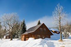 Winter in Karkonosze. Winter in Karkonosze, Czech Republic Stock Image