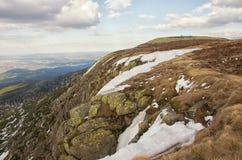 Winter in the Karkonosze Mountain. Stock Photos