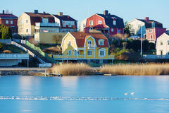 Winter in Karlskrona Royalty Free Stock Images