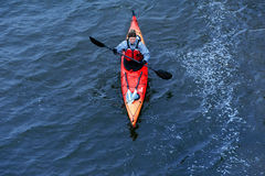 Winter kayaking on the river in Ukraine 16 Stock Photos