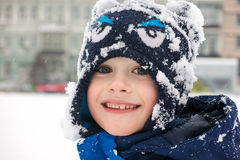A winter kid Royalty Free Stock Image