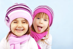 Winter kids Stock Photography