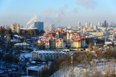 Winter in Kiev Royalty Free Stock Image
