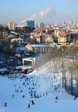 Winter in Kiev Royalty Free Stock Images
