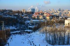 Winter in Kiev Stock Photo