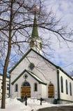 Winter-Kirche Stockfotos