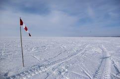 Winter kite Stock Photo