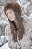 Winter kleiden oben an Lizenzfreie Stockfotografie