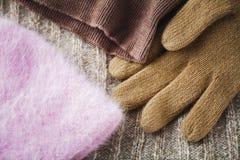 Winter kleidet Wollen lizenzfreie stockfotos