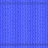 Winter Knitted Blue Pattern. Textile Background Stock Photo