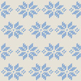 Winter knitted cards and templates Royalty Free Stock Photography