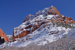 Winter Kolob Canyons Royalty Free Stock Images