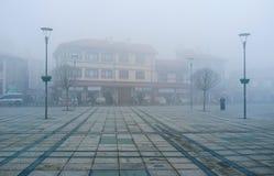 The winter in Konya Stock Image