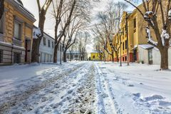 Winter Kosancicev Venac Stockfotografie