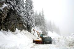 Winter in Kosovo Stockfotografie