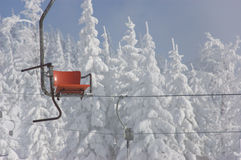 Winter-Krise - der Mangel an Menschen Stockbild