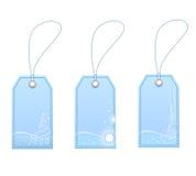 Winter labels. A set of sabels for winter sale Stock Image