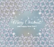 Winter lace Royalty Free Stock Photography