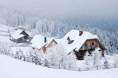 Winter in Lachtal Stock Photography