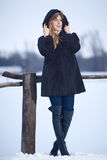 Winter Lady Royalty Free Stock Image