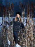 Winter Lady Royalty Free Stock Photo