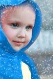 Winter lady Stock Photo