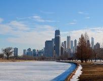 Winter Lagoon Royalty Free Stock Photography