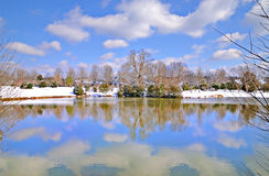 Winter Lake Stock Image