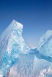 Winter lake Baikal Stock Photos