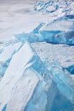 Winter lake Baikal Royalty Free Stock Photo