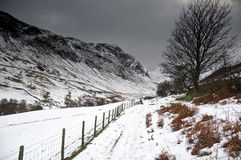 Winter in the Lake District Royalty Free Stock Photography