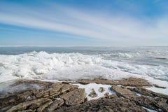 Winter Lake Erie Royalty Free Stock Image
