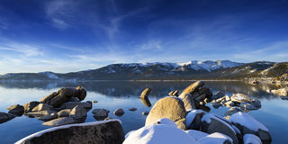 Winter Lake Tahoe Scenic Royalty Free Stock Images