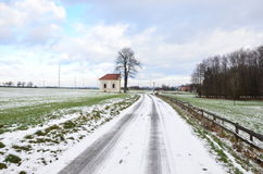 Winter land Royalty Free Stock Images