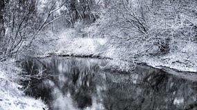 Winter landcape 4 Stock Image