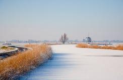Winter landscape Stock Photography
