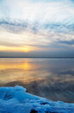 Winter landscape. Russia. Gulf of Finland. Winter landscape stock images