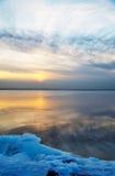 Winter landscape. Russia. Gulf of Finland. Winter landscape Stock Images