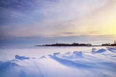 Winter landscape. Royalty Free Stock Image