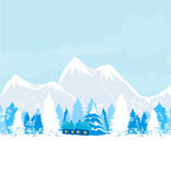 Winter landscape -  Royalty Free Stock Photo